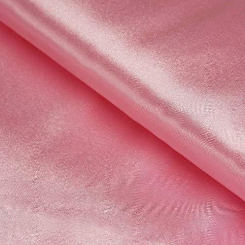 (Mikash 54 Wide x 30 feet Satin Fabric DIY Crafts Sewing Wedding Party Decorations Sale | Model WDDNGDCRTN - 8395 |)