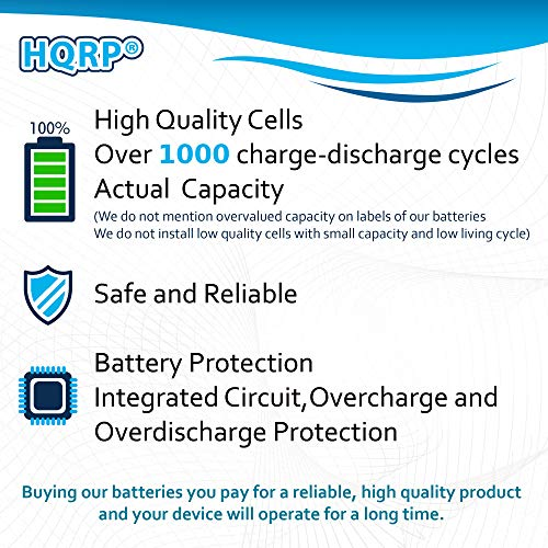 HQRP D-Size 3 6V Lithium Thionyl Chloride Battery for DSC ER34615M-T1  WT4911 WT4911B WT8911 ALEXOR Wireless Outdoor Siren WT4911BATT ADT