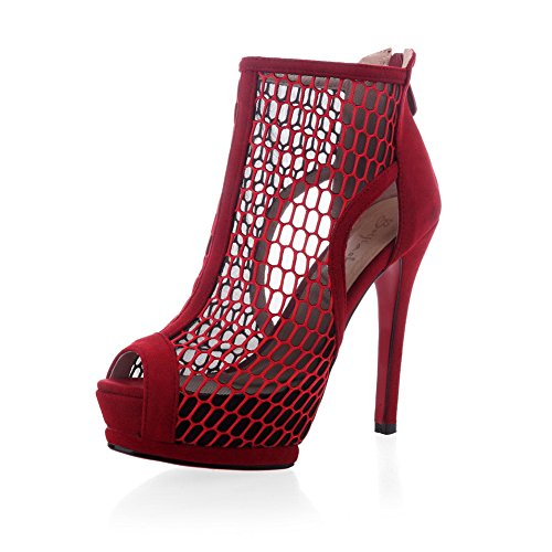 Ballerine Red 35 Rosso Donna AdeeSu wzOpqx6O