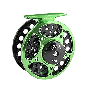 Amazon.com: Fiblink Fly Reel with Large Arbor 2+1 BB, CNC ...