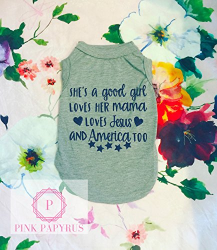 She's A Good Girl Dog Shirt by Pink Papyrus Co.