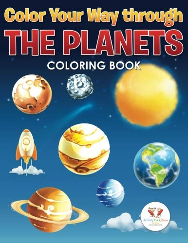 Color Your Way Through the Planets Coloring -
