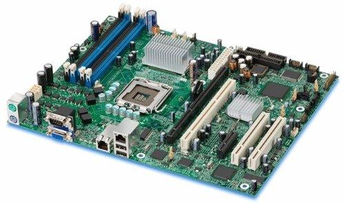 Intel Xeon/Pentium D/Pentium EE/Pentium 4/Celeron D/LGA 775/Intel 3000/FSB 1066/4DDR2-667/ATI ES1000/2GeE ATXMotherboard S3000AHLX ()