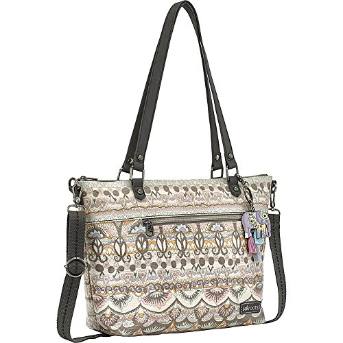 in Bloom Sakroots City Satchel Coated Canvas Graphite TxRA1qP
