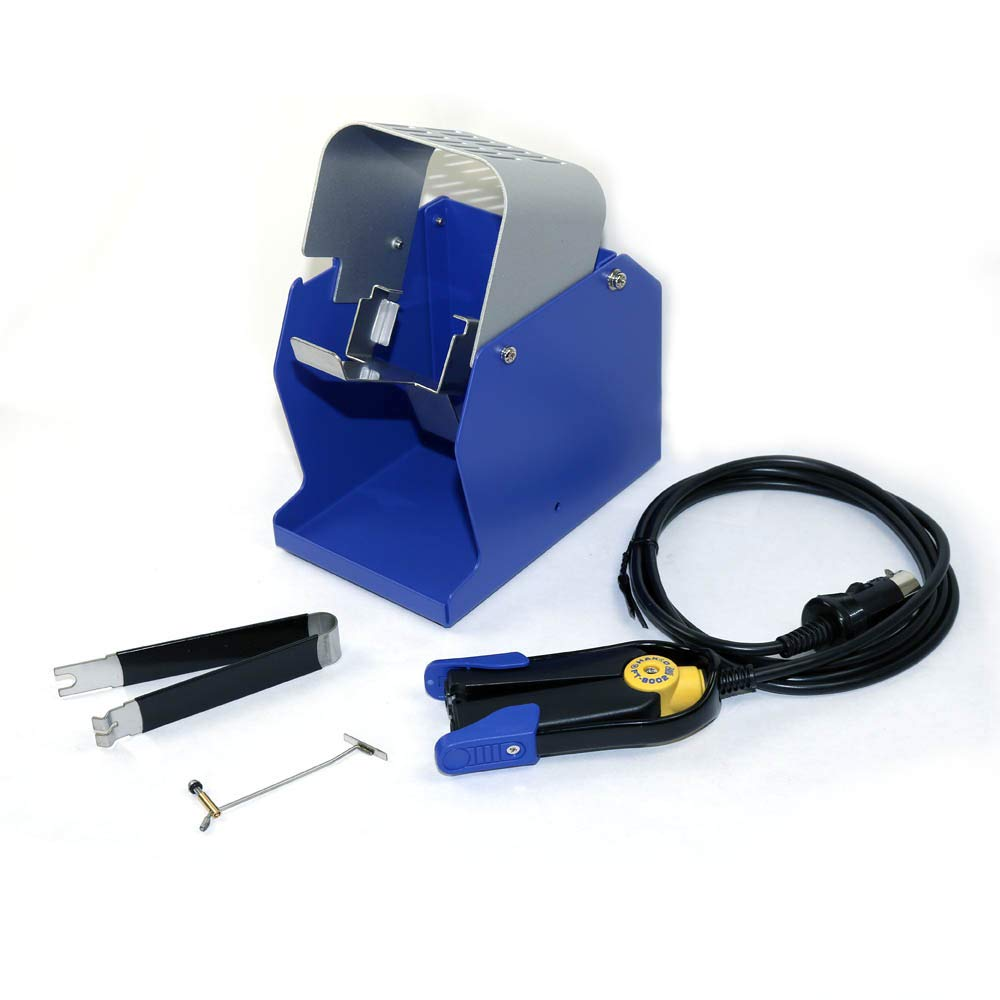 Hakko FT8002-CK Thermal Wire Stripper Conversion Kit for FT-800 with Handpiece, Holder, Lead Adjuster and Removal Tool