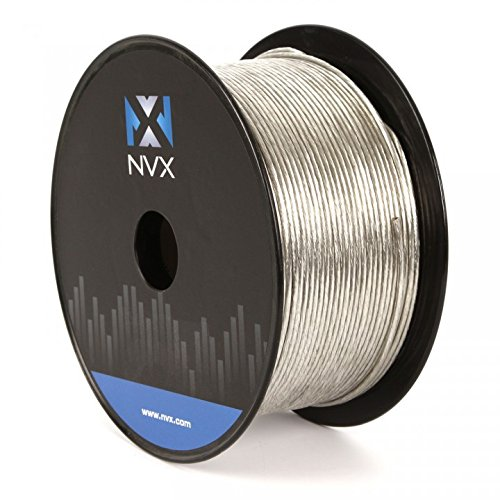 NVX Professional Grade 50 ft of 18 Gauge Clear Primary Remote Turn On Wire/Cable (XW1850CL)