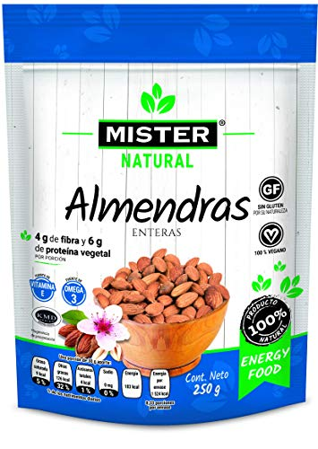 Mister Natural Almendra Entera, 250 g