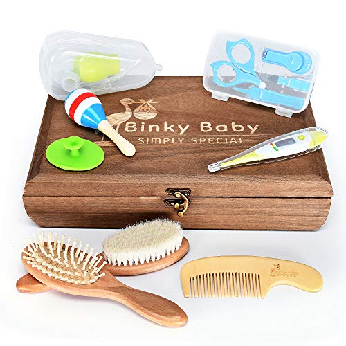 Baby Nursery Care kit - Baby Grooming kit - Nasal Aspirator & Nail Care Set - New Parents Gifts - Baby Shower Gifts - Baby Registry Gifts
