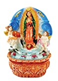7 Inch Lady of Guadalupe with Water Fountain Home Decoration Guadalupe Catholic Ornament