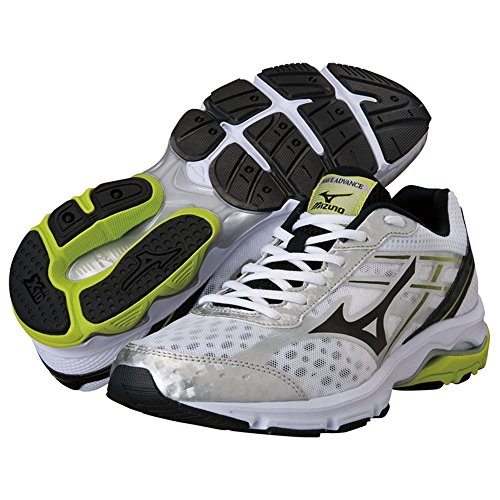 Mizuno - Advance - J1GE144909 - Color: Amarillo-Blanco-Negro - Size: 44.0