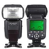 Andoer AD-980II E-TTL Flash Speedlite HSS 1/8000s GN58 Master Slave for Canon EOS 1100D 550D 5D Mark II III / 6D/ 7D/ 60D/ 50D/ 40D/ 700D/ 100D/ 650D/ 600D/ 550D DSLR