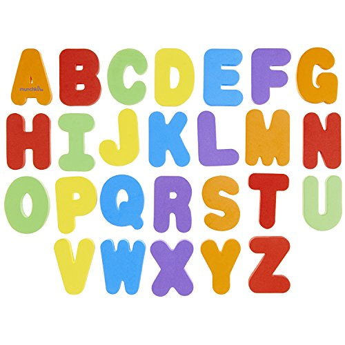 Munchkin Letters and Numbers Bath Toys, 36 Count