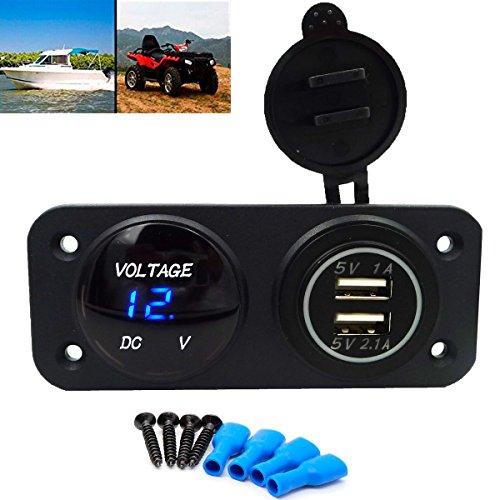 geree-waterproof-design-dual-usb-port-charger-socket-outlet-21a-10a-12v-led-digital-usb-voltmeter-fo