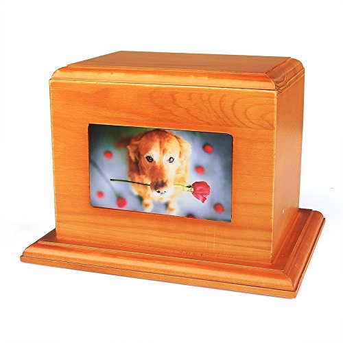 iPettie Solid Cremation Casket Bamboo