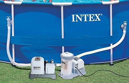 Intex 2500 gph filter pump krystal clear saltwater pool - Salt water pumps for swimming pools ...