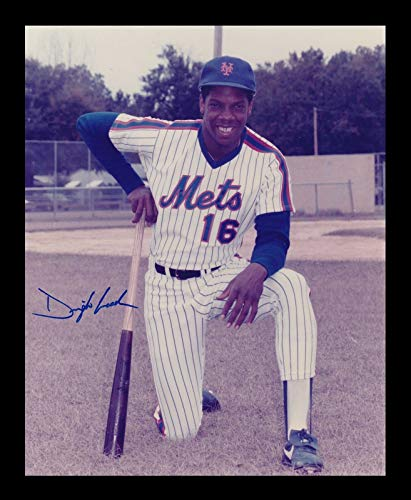 Dwight Doc Gooden Signed Photo 8x10 Autographed Mets 27432