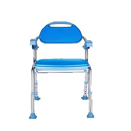 Fabulous Amazon Com Mkjydm Folding Bath Stool Shower Chair Shower Machost Co Dining Chair Design Ideas Machostcouk