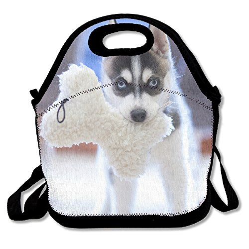 Tydo Lunch Bags Puppy Husky Dog Storage Bags Picnic Bags Fast Food Packaging For Men Women Girls - Male Tortoise Sale For Leopard