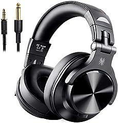 OneAudio DJ 耳机 监听耳机 低音强化蓝牙耳机 耳机 有线无线耳机 密闭式 FuSion A7