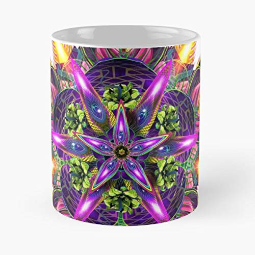 (Sylvan Perception Nature Mandala Hakan Hisim - Funny Mug Coffee Gift For Christmas Father's Day)