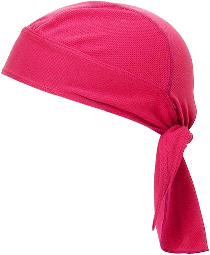 TOPTIE Do Rag Cycling Pirate Hat Cooling Skull Cap Under Helmet Headware