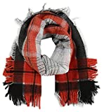 Diesel Men's Sbrianna Scarf, Red, One Size