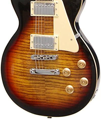 Marca nueva Crestwood EG530 cuerpo sólido estilo Les Paul Guitarra ...