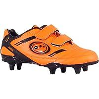 Optimum Tribal Velcro Moulded Stud, Botas de Fútbol