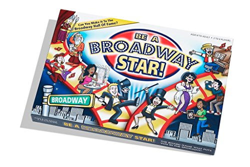 Be A Broadway Star Board Game (Music Posters Games)