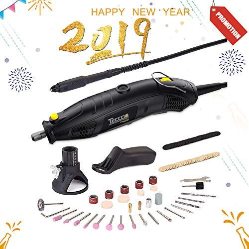 Rotary Tool TECCPO 1 5A Electric Motor 8,000-35,000RMP
