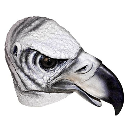 Latex Full Head Creepy Vulture Buzzard Mask