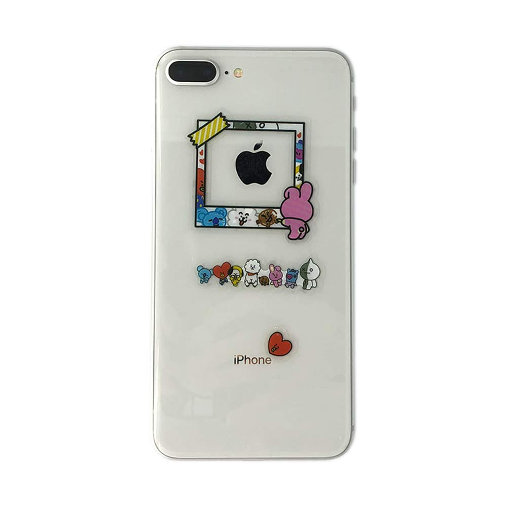 BTS Stickers and Facial Decals Paper Doll Sticker Pack Set for Phone Car Pad Laptop Water Bottles,Bangtan Boys Gift Set for Army by KPOPBTS (Image #7)