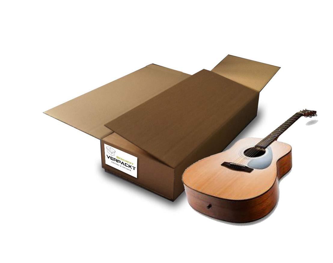 Carton d'expédition DHL pour guitare