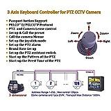 3 Axis Pan Tilt Zoom PTZ Controller Joystick LCD