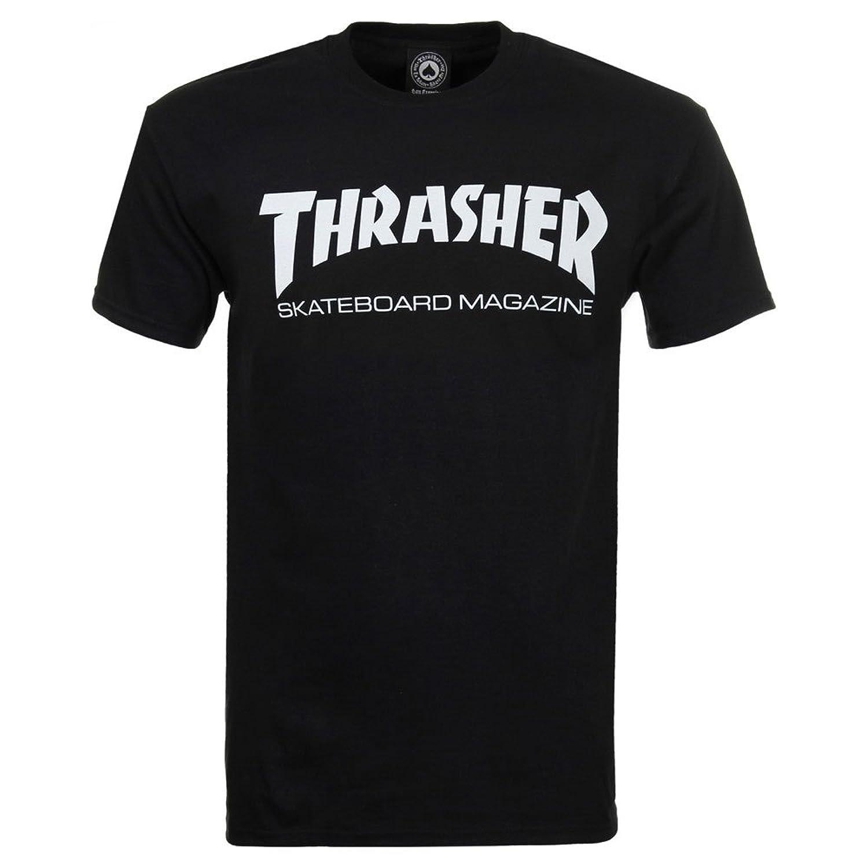 Thrasher Skate Mag T-Shirt, Yellow (Large)
