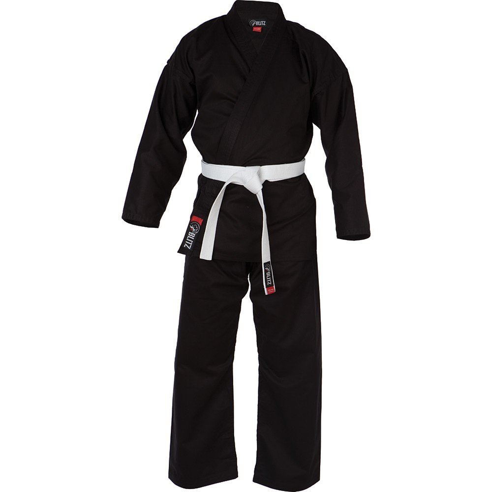 Blitz deporte adulto algodón estudiante Karate traje - negro ...