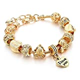 Best Aunt Bracelets - Capital Charms - Seashells and Chariots - Gold Review