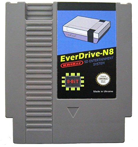 Used, Everdrive N8 flash game card for NES with 8GB SD Card for sale  Delivered anywhere in Canada