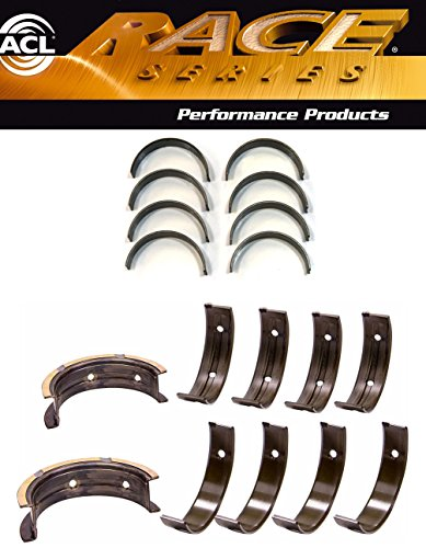 - ACL Race Main & Rod Bearings STANDARD size Fits Subaru WRX & STI 52mm Position 5 EJ20/25 (52MM Journals)