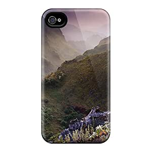 Defender Case For Iphone 4/4s, Magnificent Limestone Lscape In Thail Pattern