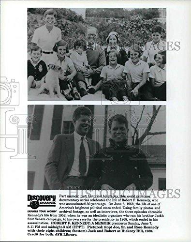 1998 Press Photo Robert F. Kennedy: A Memoir - cva21791