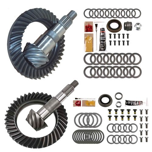 4.88 RING AND PINION GEARS & INSTALL KIT PACKAGE - DANA 30 JK FRONT / D44 REAR