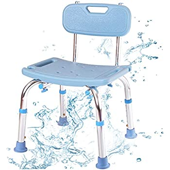 Amazon Com Crazyworld Adjustable Height Bath Chair With