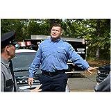 Brad William Henke 8 Inch x 10 Inch Photograph Orange Is the New Black (TV Series 2013 - ) Walking Toward Policeman kn