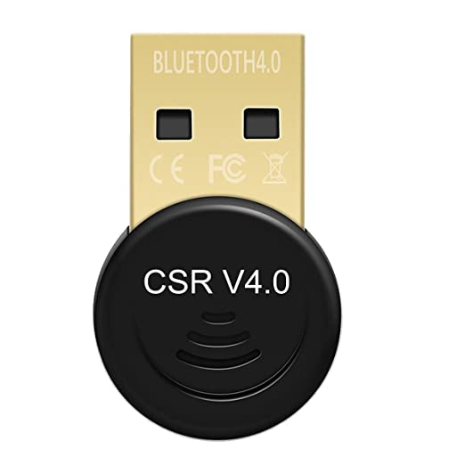 8 opinioni per iAmotus Bluetooth CSR 4.0 nano USB Dongle adattatore per PC, Supporta Win 7