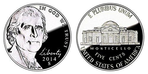 2014 S Proof Jefferson Nickel PF1