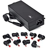 Targus 90W Universal Laptop Charger AC Power Adapter with 9 Power Tips APA731USO (Certified Refurbished)