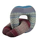 OEM U Shaped Neck Rest Airplane Car Travel Bed, Thai Pillow Pack 2 Width 10 Inch. X Height 10.6 Inch. X Depth 10 Inch. Multicolor