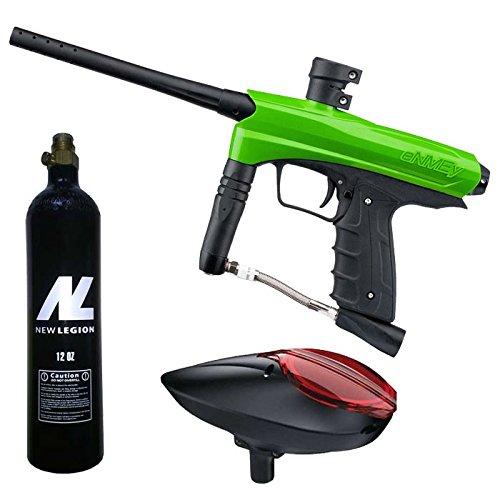 Kids Paintball Markierer cal.50 inkl. Loader und 12oz CO2 Tank - Green Mamba