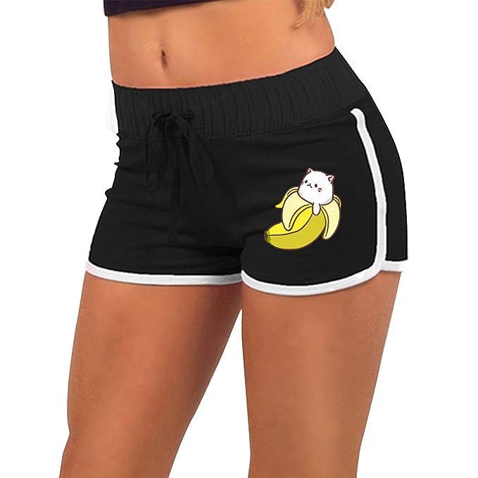 Amazon.com: Bananya Bebé Bananya Banana Gato Mujer Cintura ...